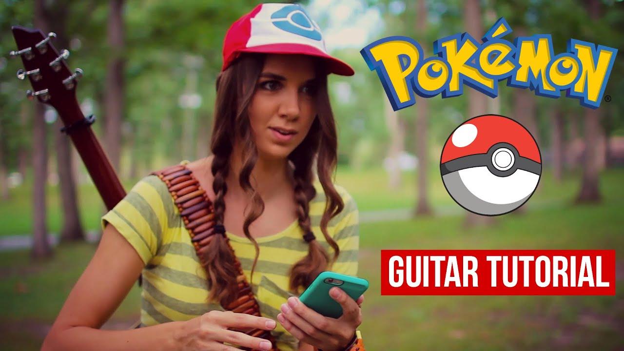 Pokemon Theme Song // Guitar Tutorial
