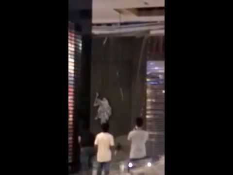 Ceiling collapses at Muscat Grand Mall