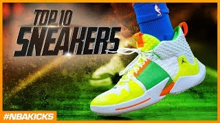 Top 10 Sneakers in the NBA #NBAKICKS - Week 16