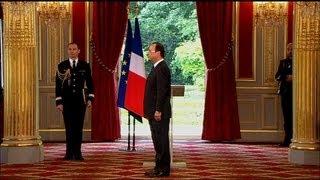 Video François Hollande officiellement investi président de la République MP3, 3GP, MP4, WEBM, AVI, FLV Agustus 2017
