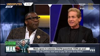Video UNDISPUTED | [ SPOTLIGHT ] Wentz agrees to extension ( $107 guaranteed, $32M per year) MP3, 3GP, MP4, WEBM, AVI, FLV September 2019