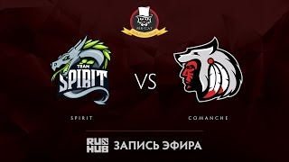 Spirit vs Comanche, Mr.Cat Invitational, game 3 [Tekcac, Jam]