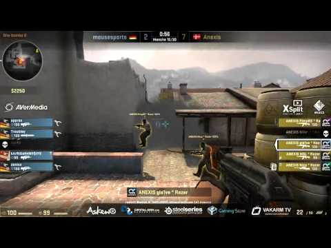 Fnatic FFO : Anexis vs Mouz - French