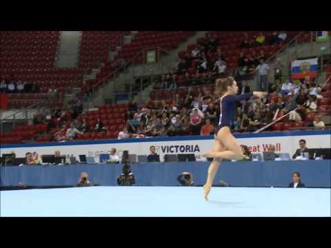 Best of 2014  Jr Europeans FX
