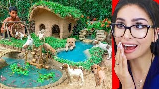 Video Kid Builds Amazing Mud House for DOGS MP3, 3GP, MP4, WEBM, AVI, FLV September 2019