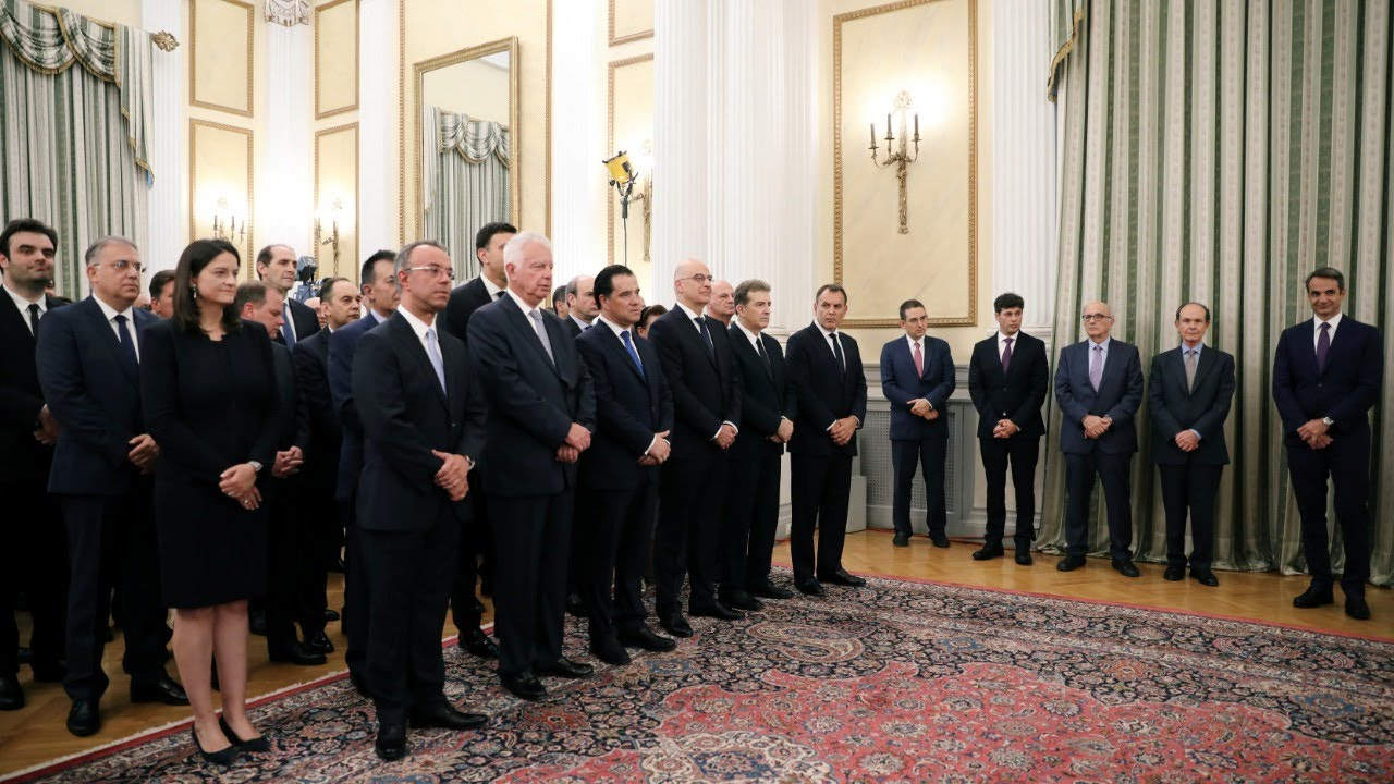 LIVE | Ελλάδα: Η ορκωμοσία της νέας κυβέρνησης