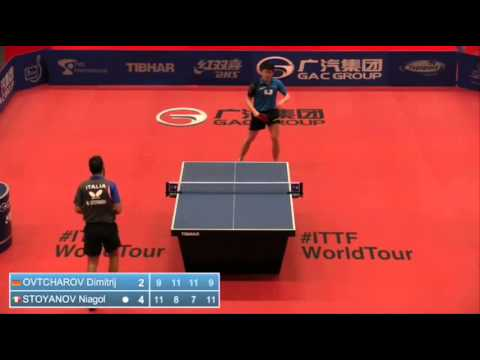 open - Review all the highlights from the Dimitrij Ovtcharov Vs Niagol Stoyanov Round Of 16 from the ITTF Belgium Open 2014 ©TMS International All content is the copyright of TMS International,...