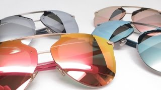 Taking a close look at the new Dior Reflected P sunglasses. What makes these Reflected model special is the P, which stands for Pixel or Pixelated, as the top of the lenses are pixelated which looks real cool.Available on our website :Dior Reflected S5ZRG Gold Crystal with Pink Gold Pixel Mirrorhttps://www.eyeheartshades.com/products/dior-reflected-p-s5zrg-gold-crystal-pixel-mirrored-sunglassesDior Reflected S62RQ Ruthenium Blue with Blue Pixel Mirrorhttps://www.eyeheartshades.com/products/dior-reflected-p-s62rq-ruthenium-blue-pixel-mirrored-sunglassesDior Reflected S6DRR Gold Red with Red Gold Pixel Mirrorhttps://www.eyeheartshades.com/products/dior-reflected-p-s6drr-gold-red-pixel-mirrored-sunglassesDior Reflected S60RL Palladium with Grey Azure Pixel Mirrorhttps://www.eyeheartshades.com/products/dior-reflected-p-s60rl-palladium-pixel-mirrored-sunglassesConnect with usWebsite :  www.eyeheartshades.comFacebook : https://www.facebook.com/eyeheartshadesTwitter : https://twitter.com/eyeheartshadesInstagram : https://www.instagram.com/eyeheartshades/Pinterest : https://www.pinterest.com/eyeheartshades/Google Plus : https://plus.google.com/+EyeHeartShades/posts