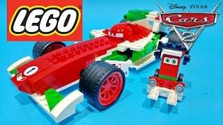 For Kids Worldwide presents : Disney Pixar Cars 2 Video Ultimate Build Francesco Bernoulli & Pittie Crew from LEGO Toys - Juguetes de Cars 2!