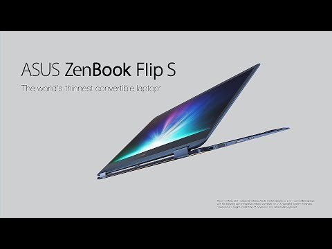 , title : 'The World's Thinnest Convertible Laptop - ZenBook Flip S | ASUS'