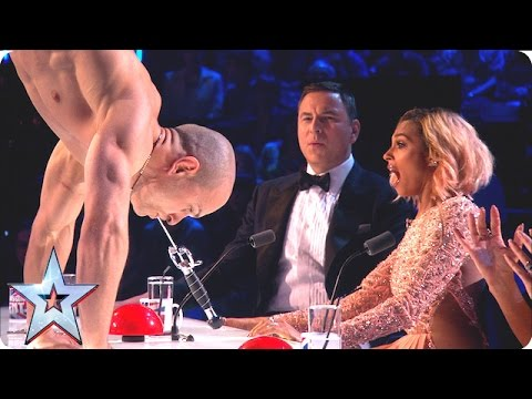Alex Magala vo finále Britain's Got Talent 2016