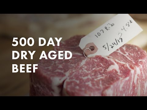 500 Day Dry Aged Beef Breakdown