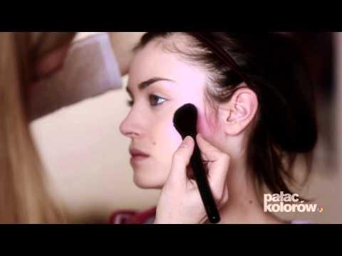 Pałac Kolorów - makijaż fashion na okładkę Make-up trendy (tutorial)