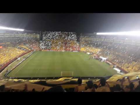 Recibimiento Monumental Barcelona vs Santos. - Sur Oscura - Barcelona Sporting Club