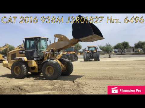 CATERPILLAR RADLADER/INDUSTRIE-RADLADER 938M equipment video qzXQTv1B6uU
