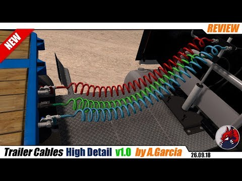 Trailer Cables High Detail ATS 1.31 – 1.32