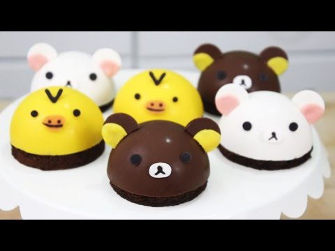 How To Make Rilakkuma Bombe Cakes!
