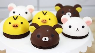 How to Make Rilakkuma Bombe Cakes!