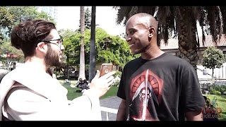 Phoenix James interview with Mad Squad at Movie Con in Santiago