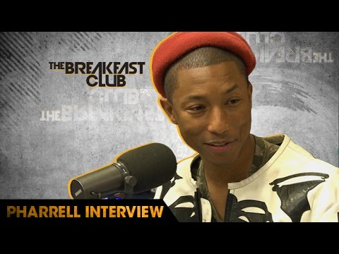 Pharrell Stops By The Breakfast Club To Discuss The Music Business & His New Film 'Hidden Figures'