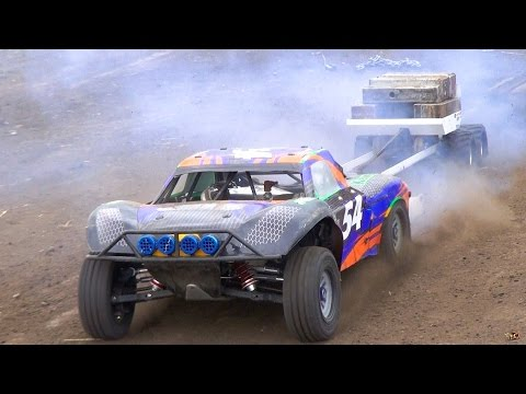 RC ADVENTURES - Power Pulling / Weight Sled - 1/5 Scale Radio Control Trucks