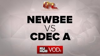 CDEC.A vs NewBee, game 1
