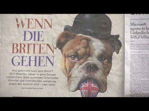 Brexit: Τι συμβουλεύουν οι Ευρωπαίοι τους Βρετανούς