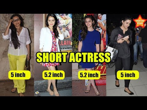 Video 10 Bollywood actresses who are short in real life download in MP3, 3GP, MP4, WEBM, AVI, FLV January 2017