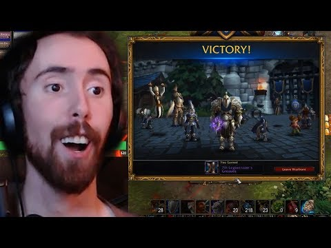Asmongold Plays Warfronts For His First Time Ever!