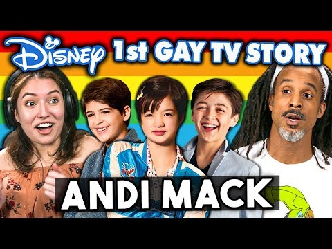 Generations React To Disney's 1st Gay TV Character - Andi Mack Coming Out Story