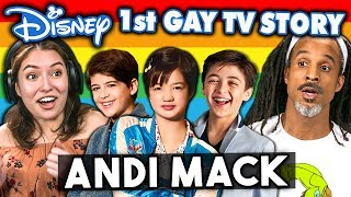 Video Generations React To Disney's 1st Gay TV Character - Andi Mack Coming Out Story MP3, 3GP, MP4, WEBM, AVI, FLV Agustus 2019