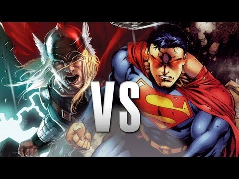 Superman VS Thor: Epic Battle!