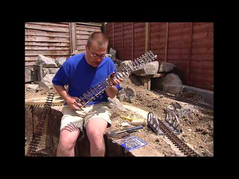 Mark Found   The Garden Railway   Prog 7   track Laying