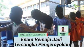 Enam Remaja Jadi Tersangka Pengeroyokan dan Penganiayaan  Korbannya Ditikam Pisau
