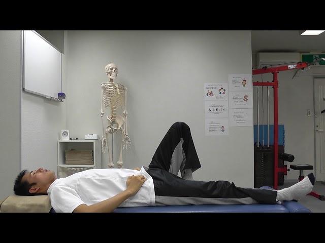 【セルフケア動画】ぎっくり腰の予防 2 『みぞおち体操』