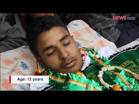 Eid in Pulwama Kashmir: No celebrations, but the funeral of a 12 year old boy