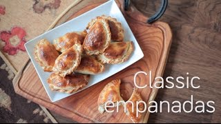 Classic empanadas