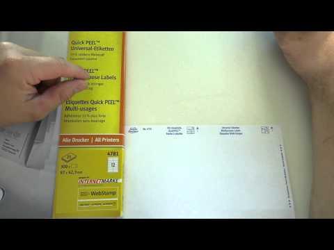 Avery Zweckform Universal-Etiketten - Quick Peel