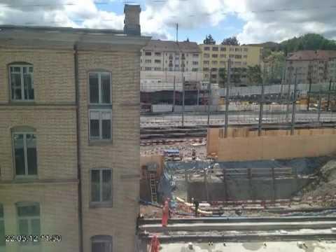 Как для расширения вокзала перенесли дом в Цюрихе - Центр транспортных стратегий
