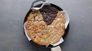 Multi-Flavor Skillet Cookie by Tasty