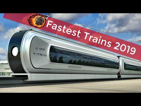 உலகில் அதி வேகமாக செல்லும்  ரயில்கள்   Top 10 Fastest High Speed Trains in the World 2019