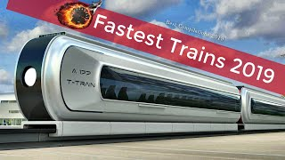 Video Top 10 Fastest High Speed Trains in the World 2019 MP3, 3GP, MP4, WEBM, AVI, FLV Agustus 2019
