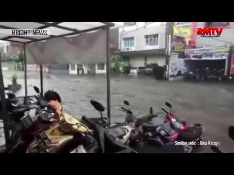 Kota Bandung Lumpuh Diterjang Banjir