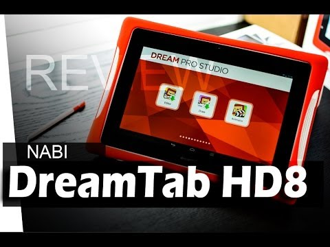 Nabi DreamTab HD8 Kids Tablet - REVIEW