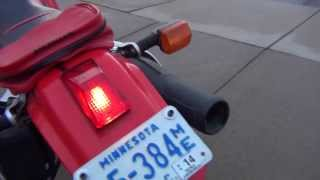6. Honda XR650L Mods: Brake Light Replacement - WPS Tail Light