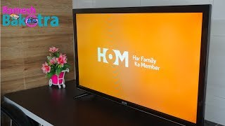 HOM 40+ Amazon FireTv Stick LED TV Unboxing and Full Review