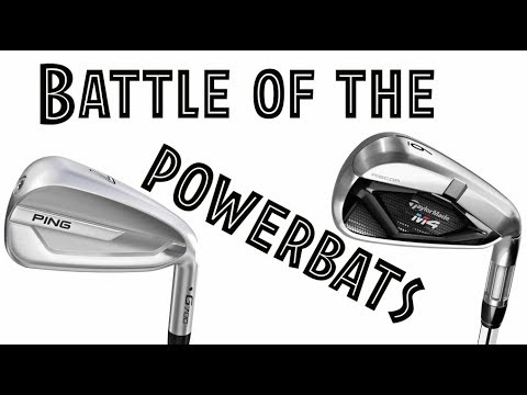 PING G700 V TAYLORMADE M4 IRONS