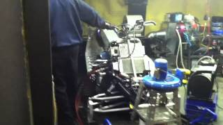 7. T-Nytro being tuned by H&H Performance