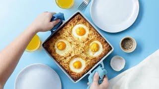 The Ultimate Breakfast Dish | Breakfast Shepherds Pie by Tastemade
