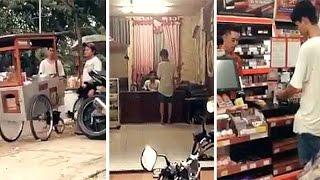 Video Perlakuan Tiga Pria kepada Pemuda Lusuh Jadi Viral, Balasan untuk Mereka tak Disangka MP3, 3GP, MP4, WEBM, AVI, FLV Mei 2017